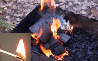Как быстро и безопасно разжечь мангал? 4 способа о которых вы должны знать
