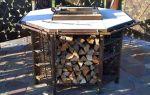 Стол со встроенным мангалом: удобное изобретение для хорошего отдыха