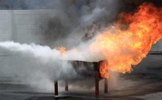 мангал пожар