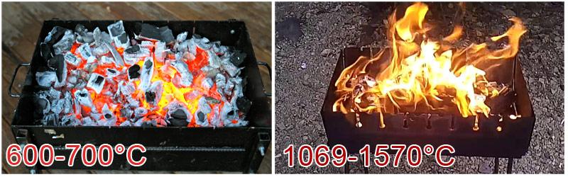 Температура в мангале при приготовлении шашлыка